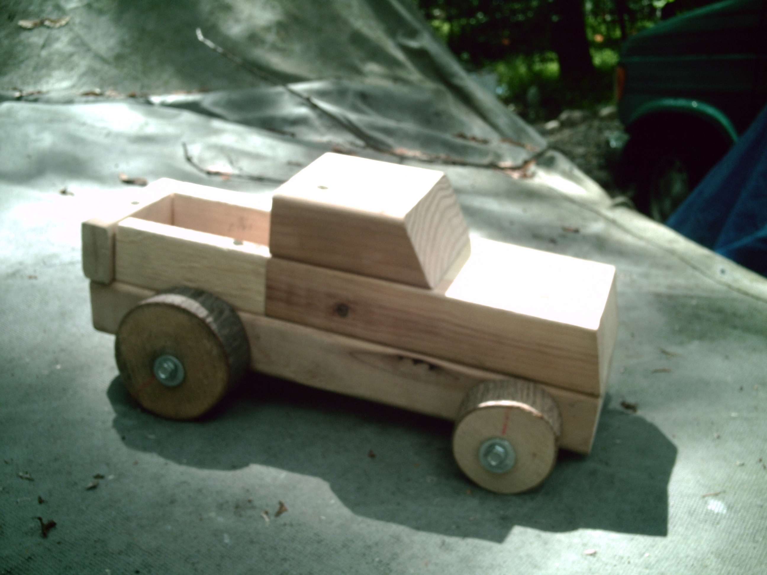 Build your Own Wood Truck Car